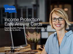 Income Protection Easy Answer Cards