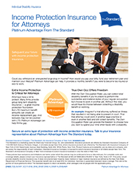 Income Protection Insurance for Attorneys