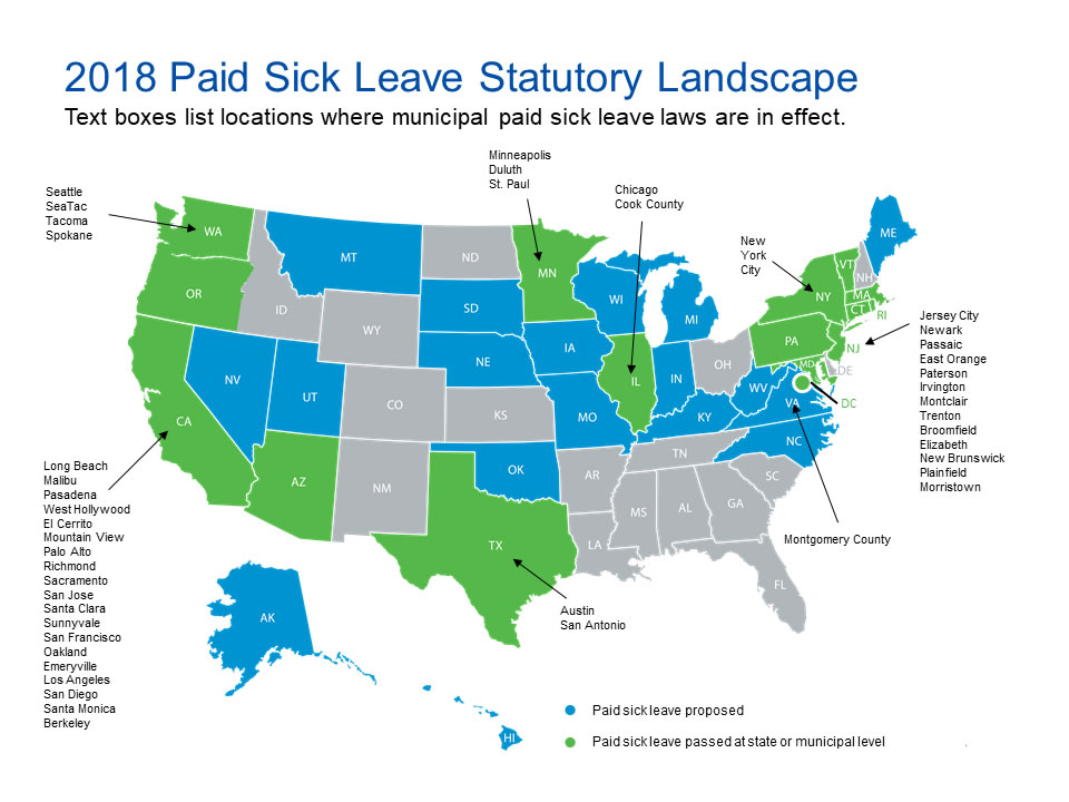 Paid Leave Laws And Short Term Disability Issues And Impacts The Standard