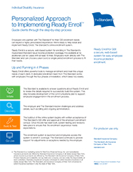 Personalized Approach to Using Ready Enroll