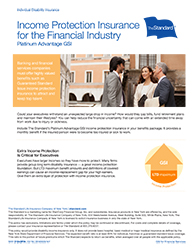 It's GSI for financial firms!