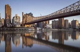 Photo of the Queensboro Bridge in New York