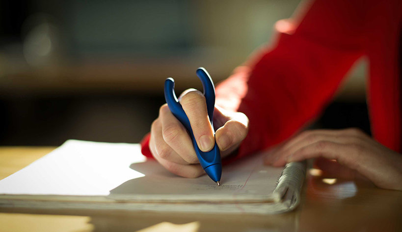 An inexpensive but incredibly effective approach can help employees with a range of health conditions: an ergonomic pen.
