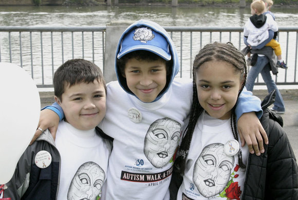 Photo of three kids