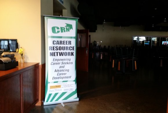 Photo of Career Resources Network signage