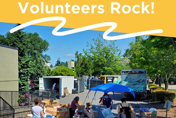 Community Warehouse - Volunteers Rock!