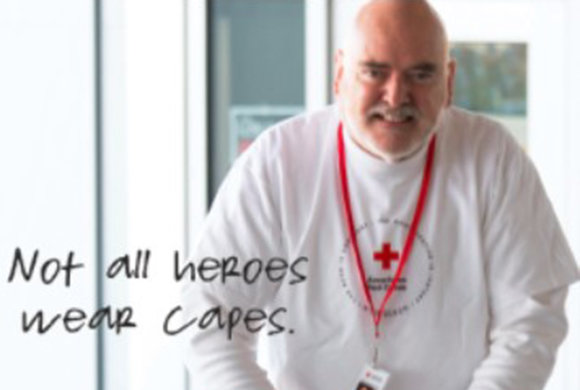 Photo of an American Red Cross hero