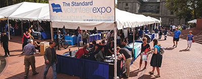 Photo of the Volunteer Expo