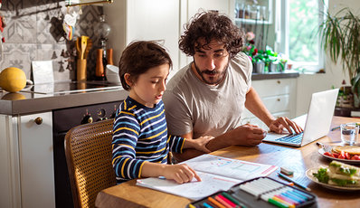 Working, Parenting and Schooling from Home