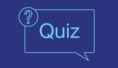 Image of the word quiz and a question mark